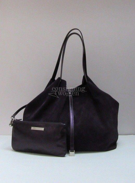 6324049a2ae6 Tiffany   Co TRT Tiffany Reversible Tote garnet garnet suede bag    pochette. SOLD