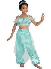 Princess Jasmine Costume for Girls - Party City  sc 1 st  Pinterest & Princess Jasmine Costume for Girls - Party City | KID IDEAS ...