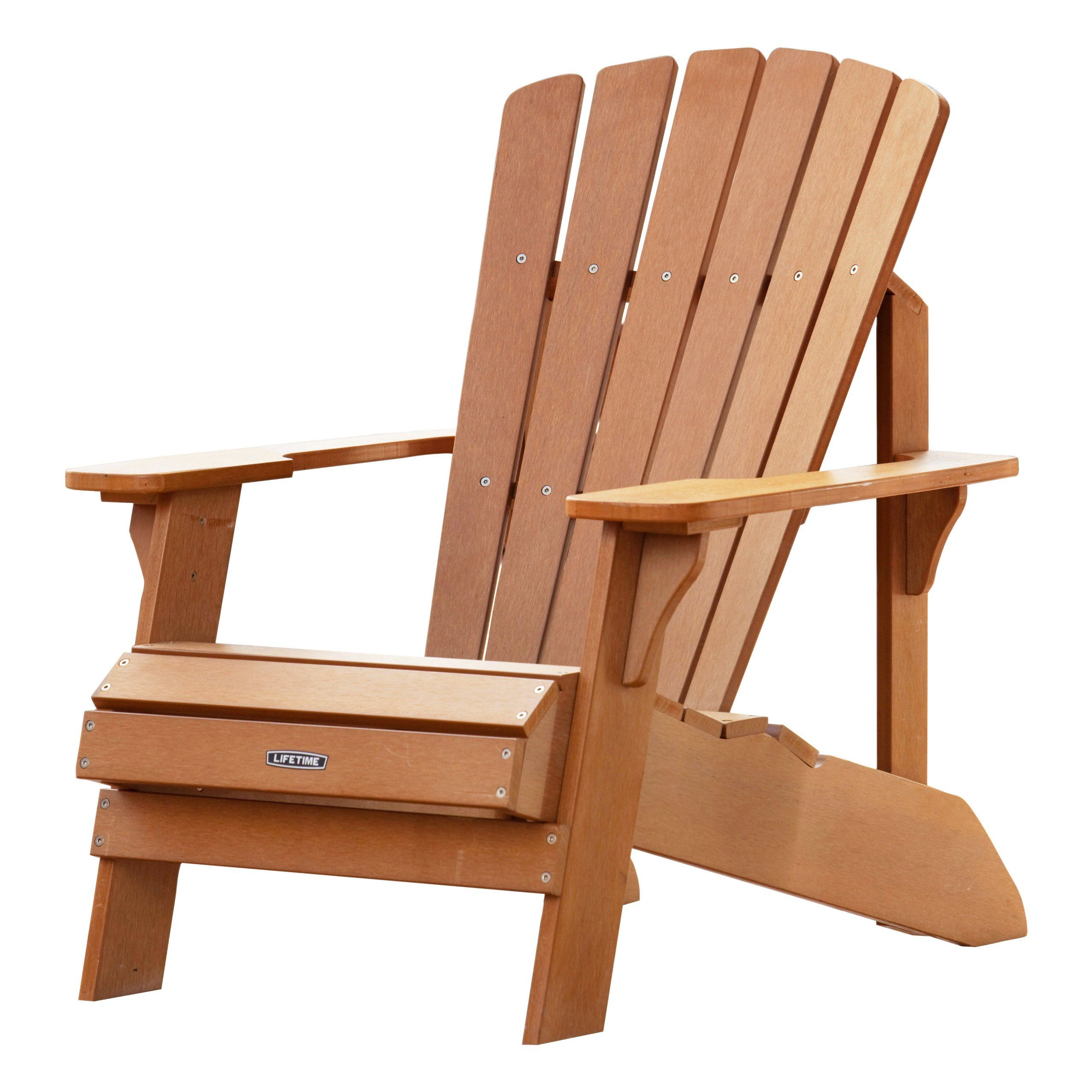 Amazon Lifetime Adirondack Chair Patio Lawn