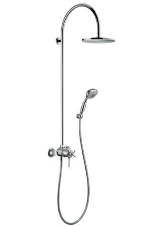 10 Easy Pieces Exposed Wall Mounted Showers With Images