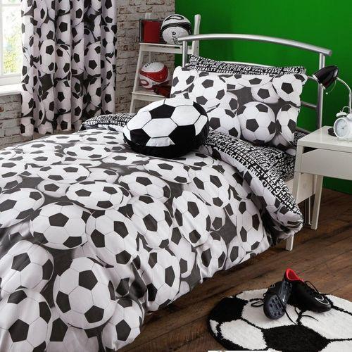 Football Soccer bedroom set original home decor. Footballowe szale stwo   Football  Home and Bedroom sets
