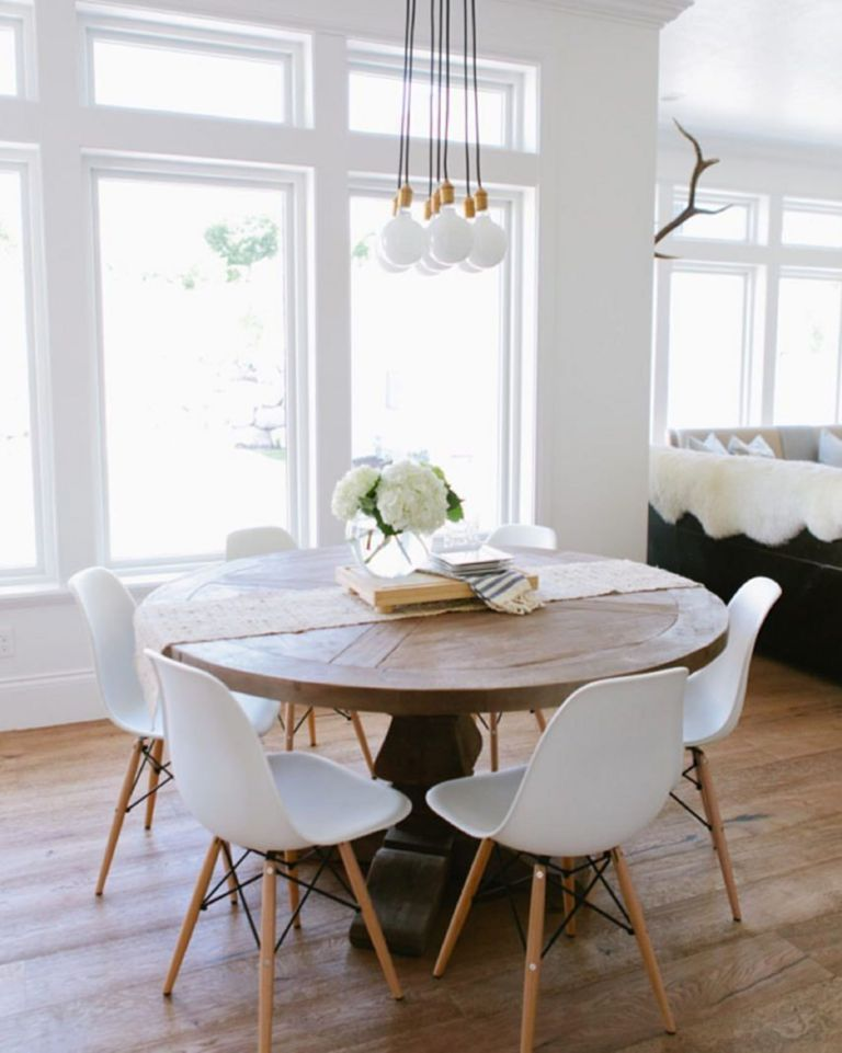 Cute Dining Table Design Ideas Round Dinning Room Table