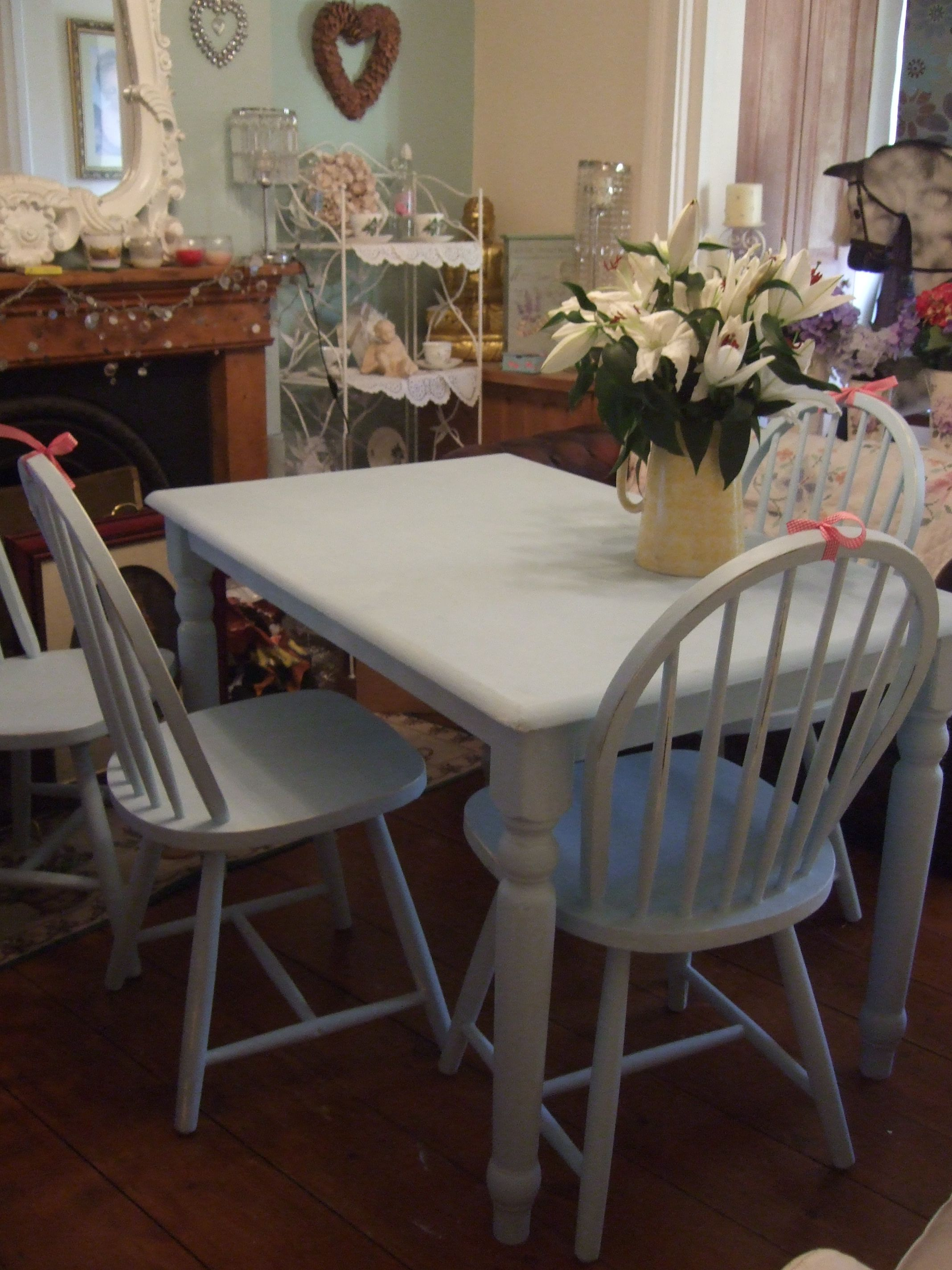 duck egg blue shabby. Contemporary Blue Duck Egg Blue Shabby Lovely Shabby Chic Dining Table And Chairs Painted In  For Duck Egg Blue Shabby