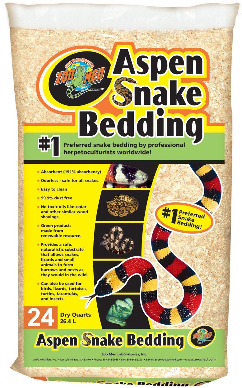 Zoo Med Aspen Snake Bedding 26.4L Reptile Centre in 2020