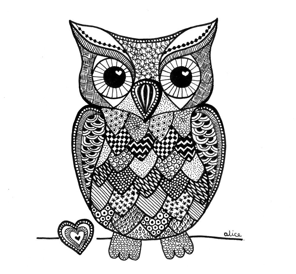 Flat 1000x1000 075 F U1 Jpg 1000 928 Owl Coloring Pages Mandala Design Art Boho Art Drawings