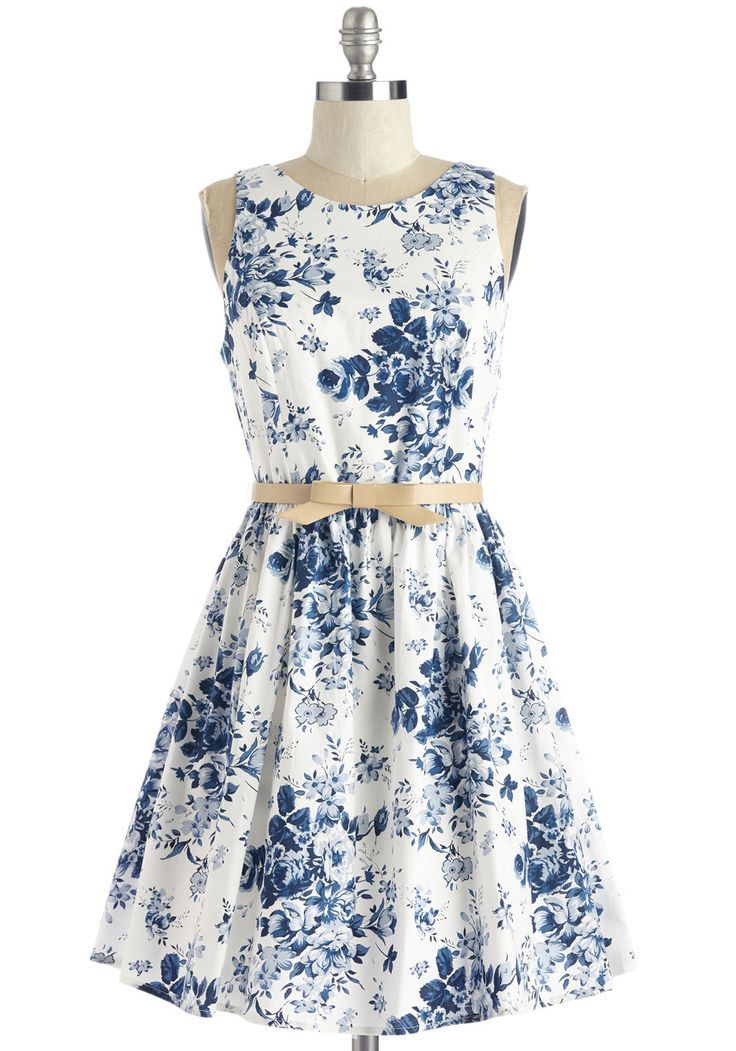1aca8a55919 Soak Up the Sun Belt Dress. When you take your peppy panache to the  southern coast in this white floral dress