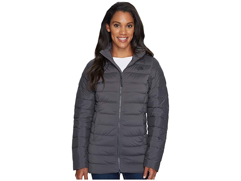 79780659e The North Face Stretch Down Parka (Asphalt Grey) Women's Coat. Enjoy ...