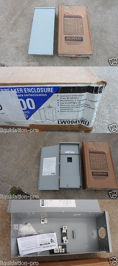 circuit breakers and fuse boxes 20596 new murray lw004vru 200 amp rh pinterest com