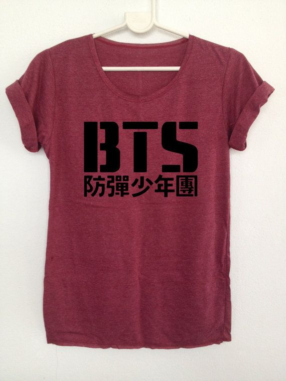 BTS Kpop tshirts boy band Korea Bangtan boys clothing | Kpop, BTS and Boy  bands