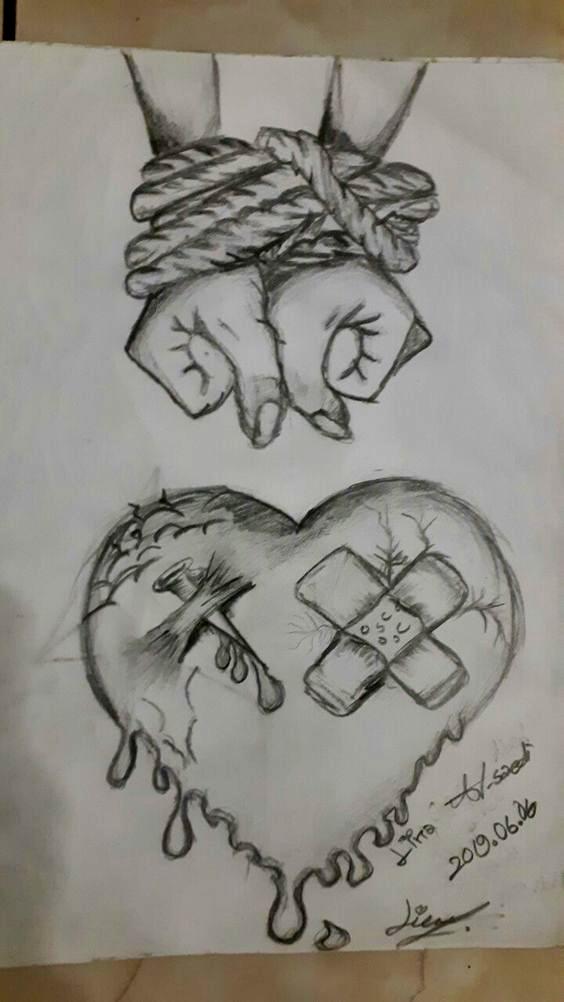 Hayal kırıklığı nefret in 2020 | Dark art drawings, Art ...