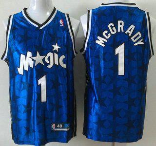 Orlando Magic Jersey  1 Tracy McGrady All-Star White Authentic Jerseys 923954e4f
