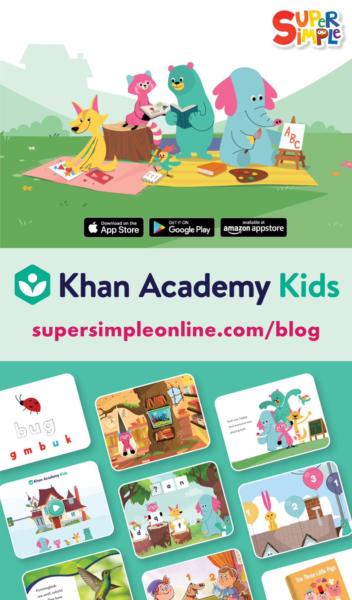Khan Academy Kids Launches Today Music for kids