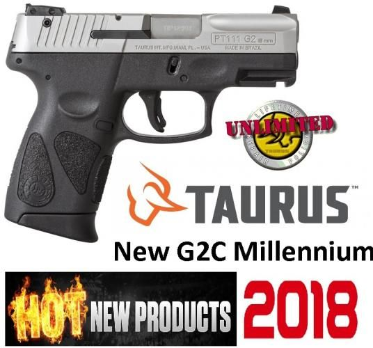 Super Deal!!! Taurus G2C 111 Millennium 9MM Pocket Pistols Starting