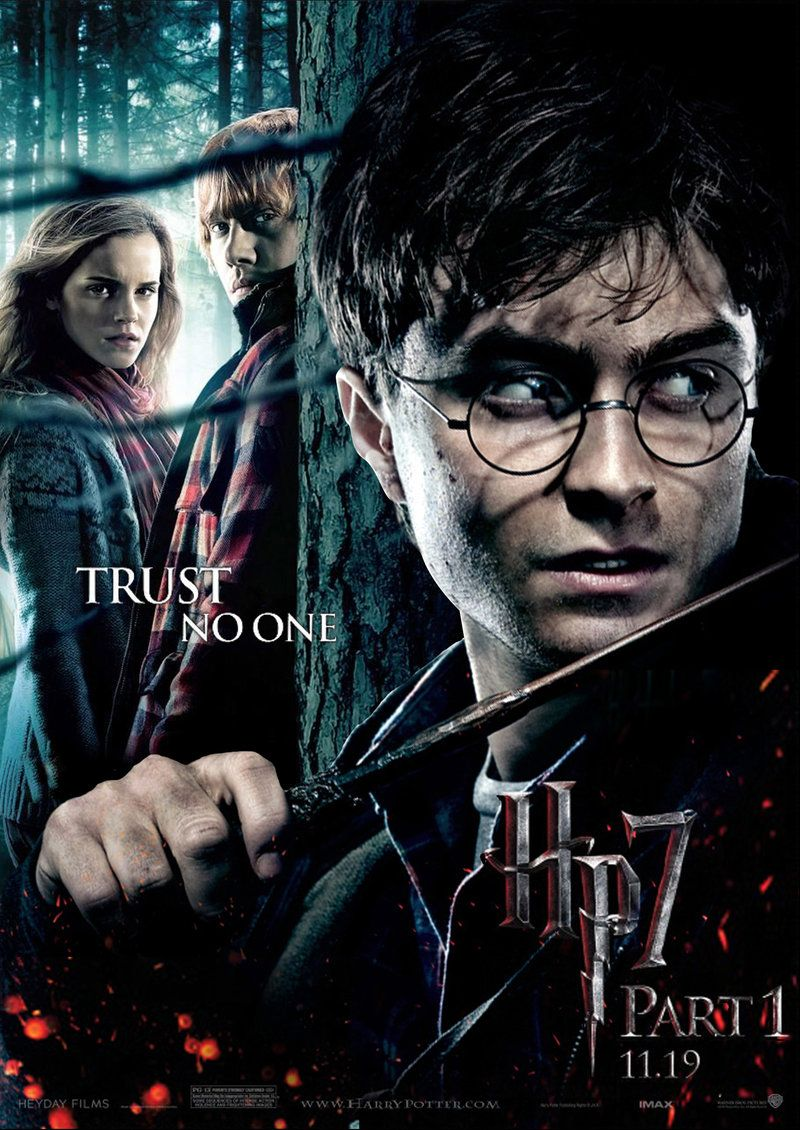 Hp7 Trust No One By Andrewss7 Harry Potter Ron Weasley Harry Potter Jk Rowling Harry Potter