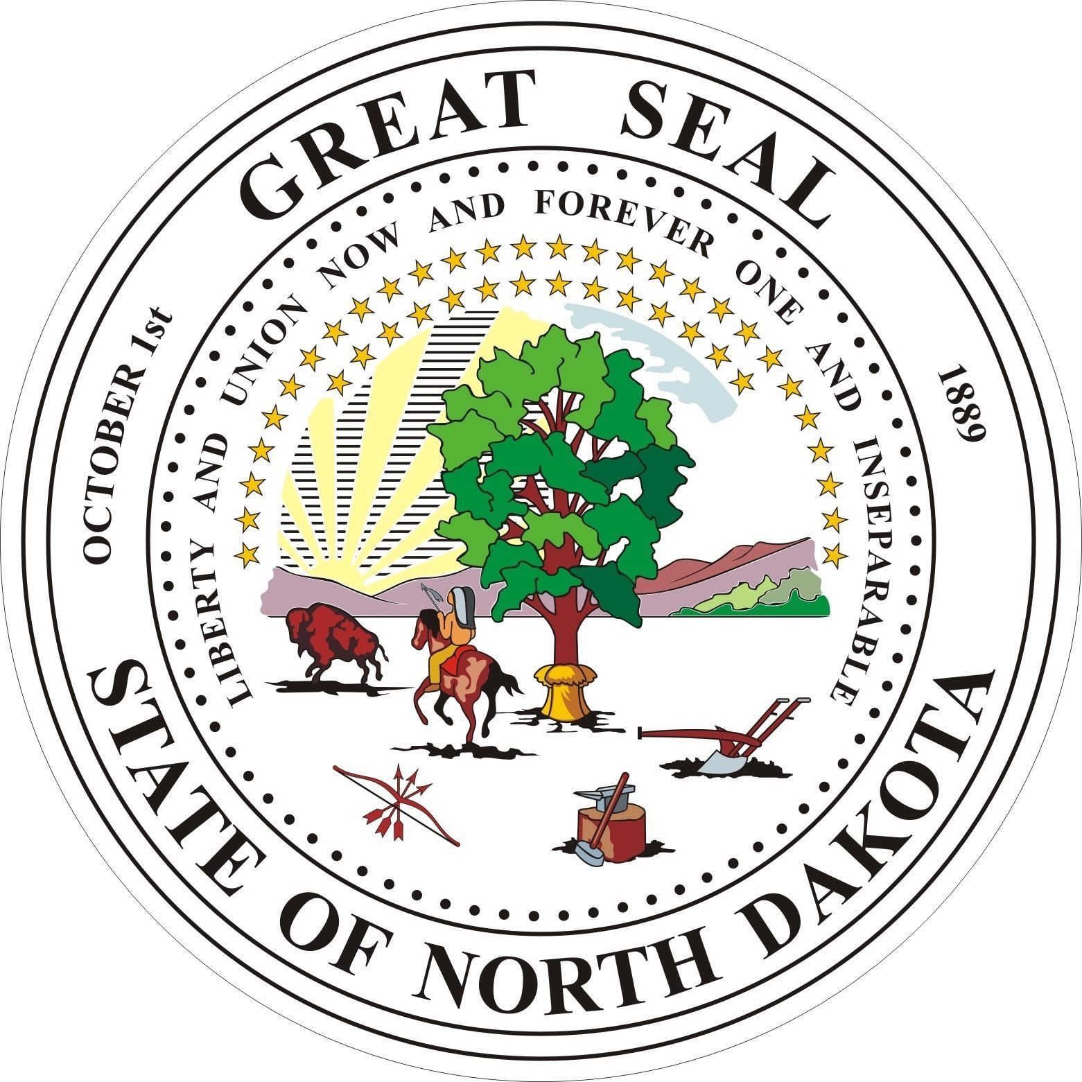 North Dakota State Seal North Dakota Dakota Discrimination Law