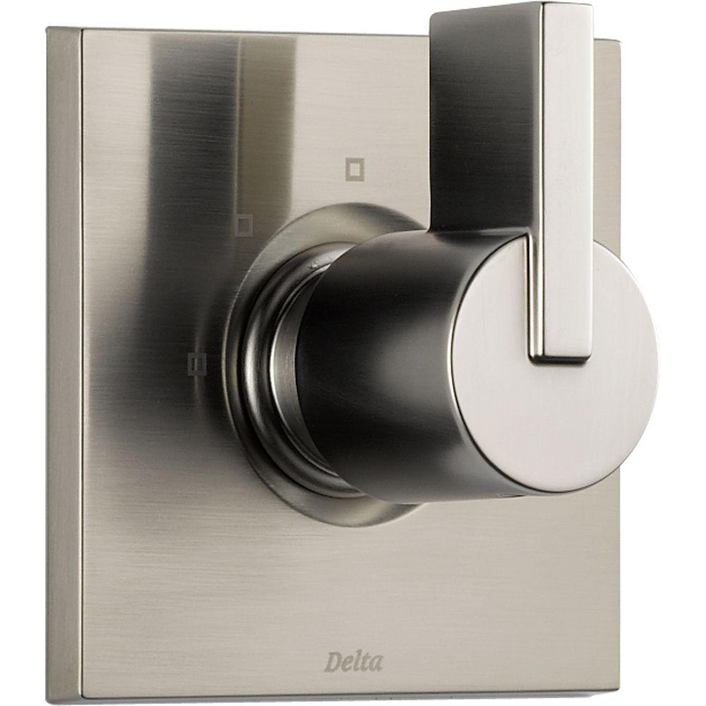 Delta Vero 1 Handle 3 Setting Diverter Valve Trim Kit In Stainless