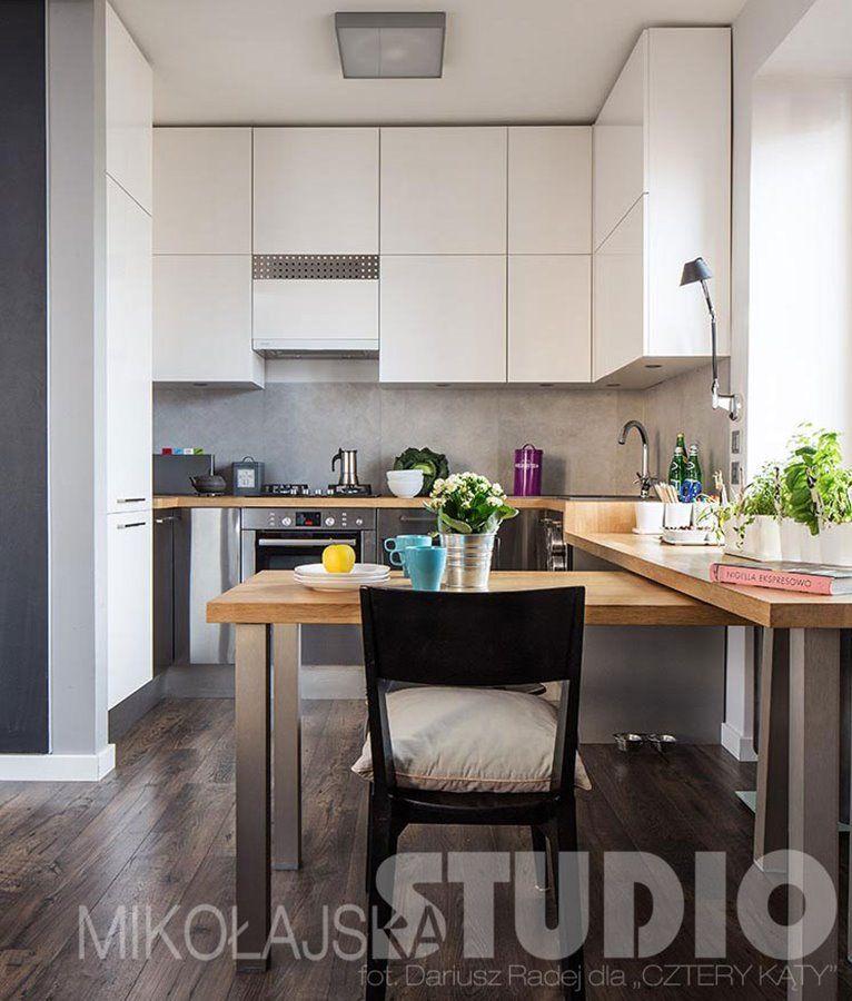 Salon Z Kuchnią W Małym Mieszkaniu Inspiracja Homesquare