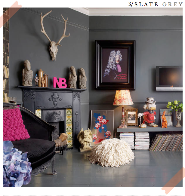 Three Bold and Beautiful Living Rooms Gray Living rooms and Grey