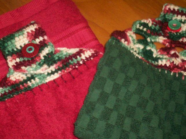 Plush Towel Toppers Free Crochet Pattern Crochet Towel Toppers