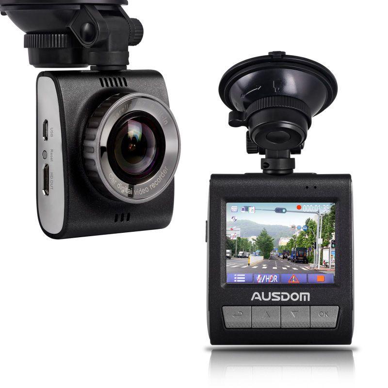 """Free shipping!AUSDOM AD109 Ambarella A7 2K HD 1296P 2.0"""" Car Dashcam Camera DVR Park Monitor motion-detection G-sensor"""