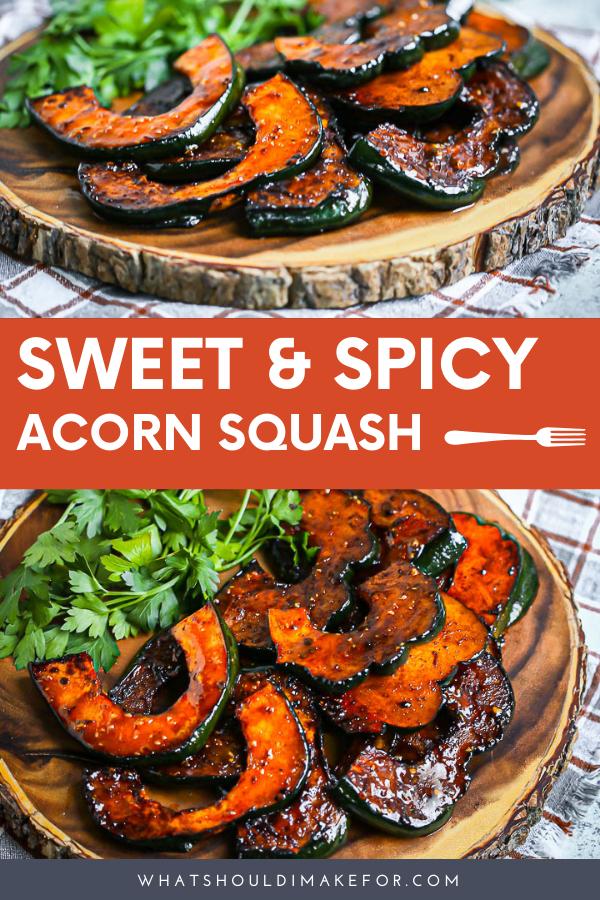 Sweet And Spicy Acorn Squash Recipe Acorn Squash Recipes