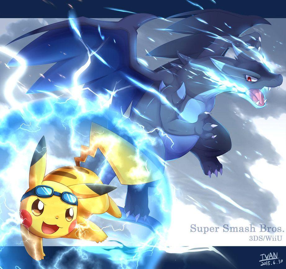 Volt Tackle V.S Mega by ffxazq.deviantart.com on @DeviantArt | Pokemon,  Charizard, Pokemon super