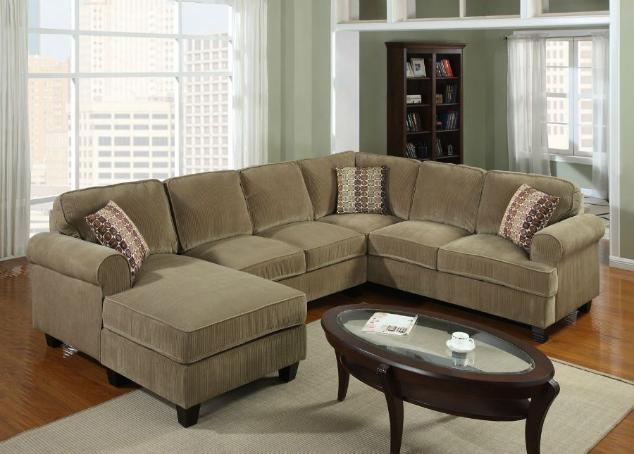 Livingroom ideas on pinterest window seat cushions for Brown corduroy couch
