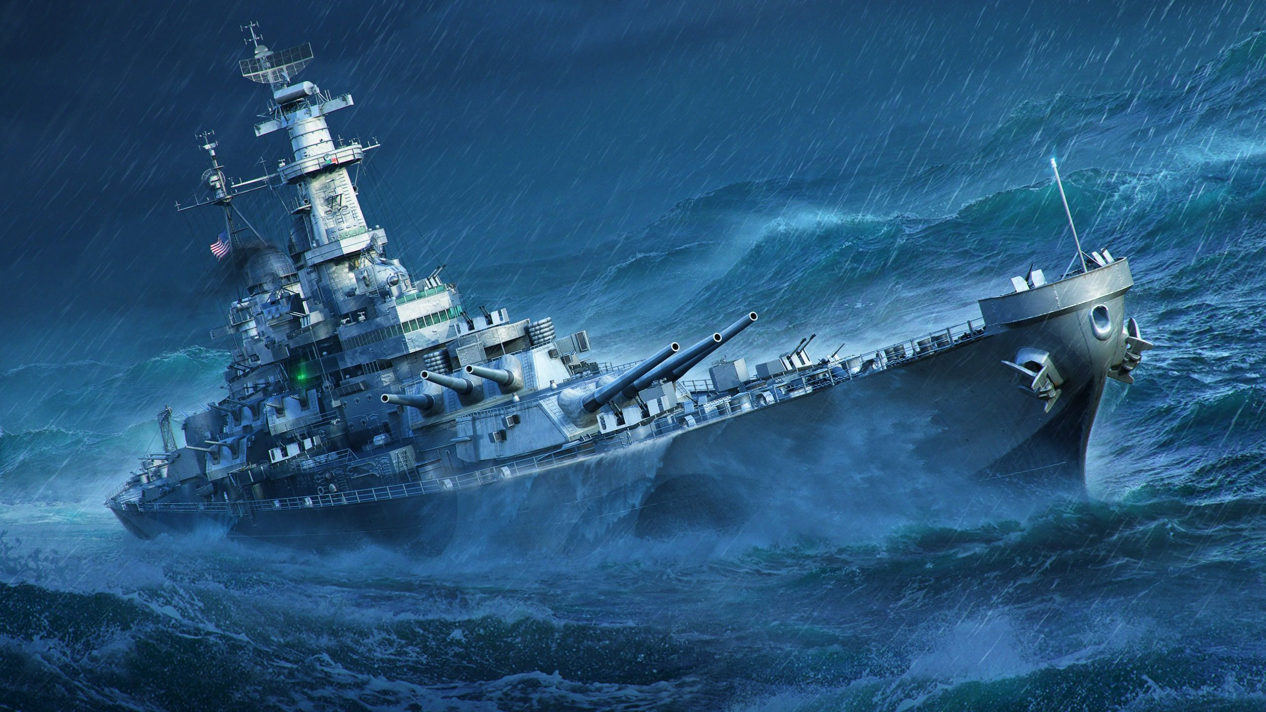 Video Game World Of Warships Warships Heart Wave Ship Sea Warship