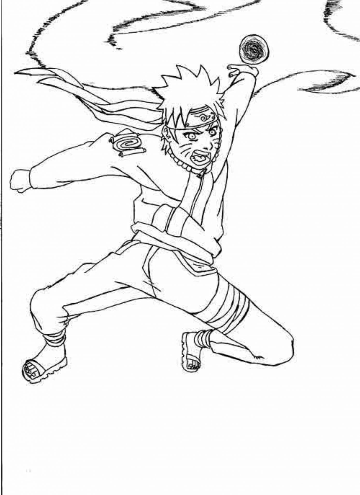 Naruto Rasengan Coloring Pages Chibi Coloring Pages Cartoon Coloring Pages Coloring Pages