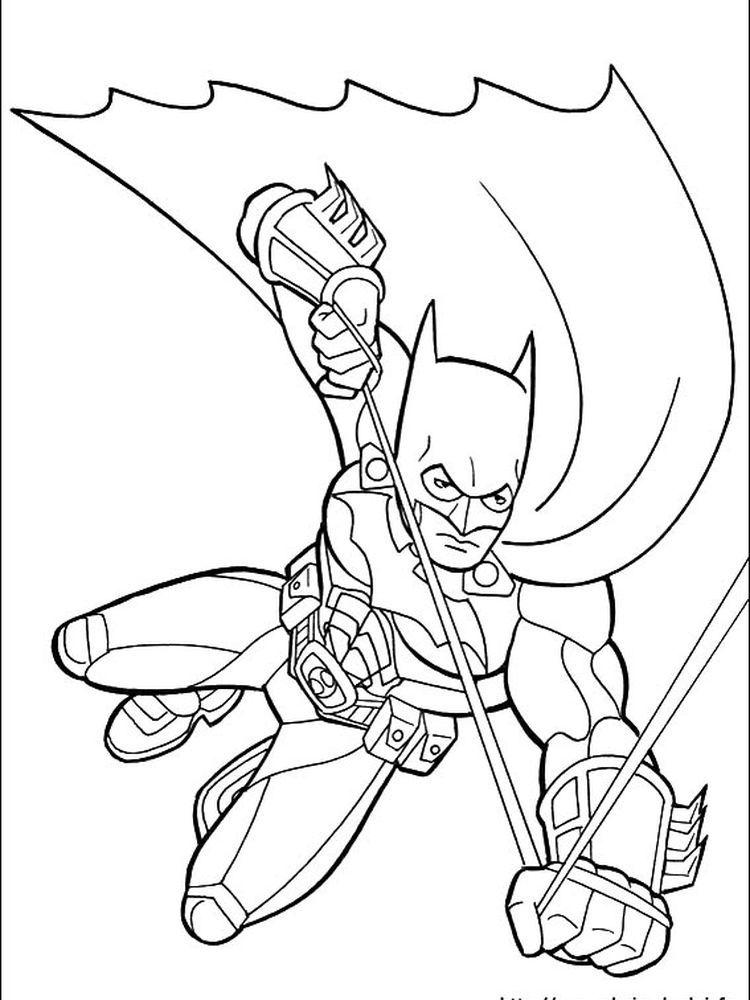 Printable Batman Coloring Pages Free Coloring Sheets di 2020