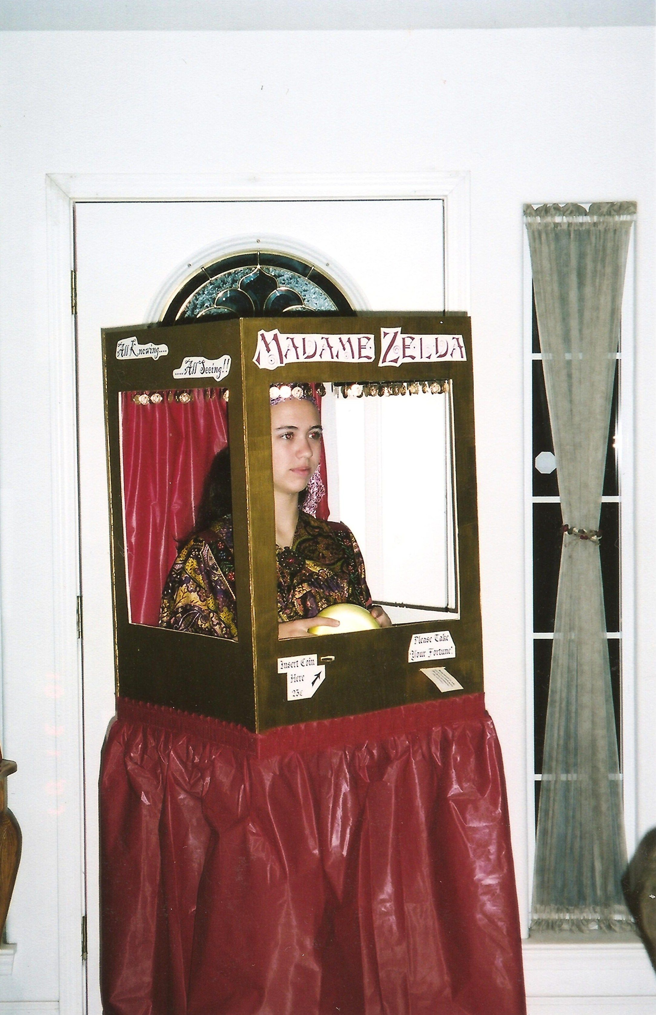 Halloween costume I made for my daughter. Fortune teller