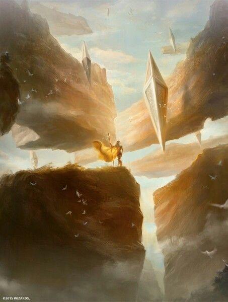 """Arid Mesa"" Magic the Gathering full art Zendikar Expeditions land #magicTheGathering"