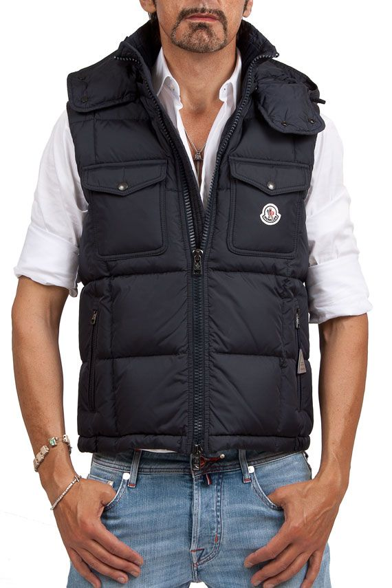 1792c2d069109 Groppetti Luxurystore RIANS GILET - Abbigliamento - Uomo  moncler  man
