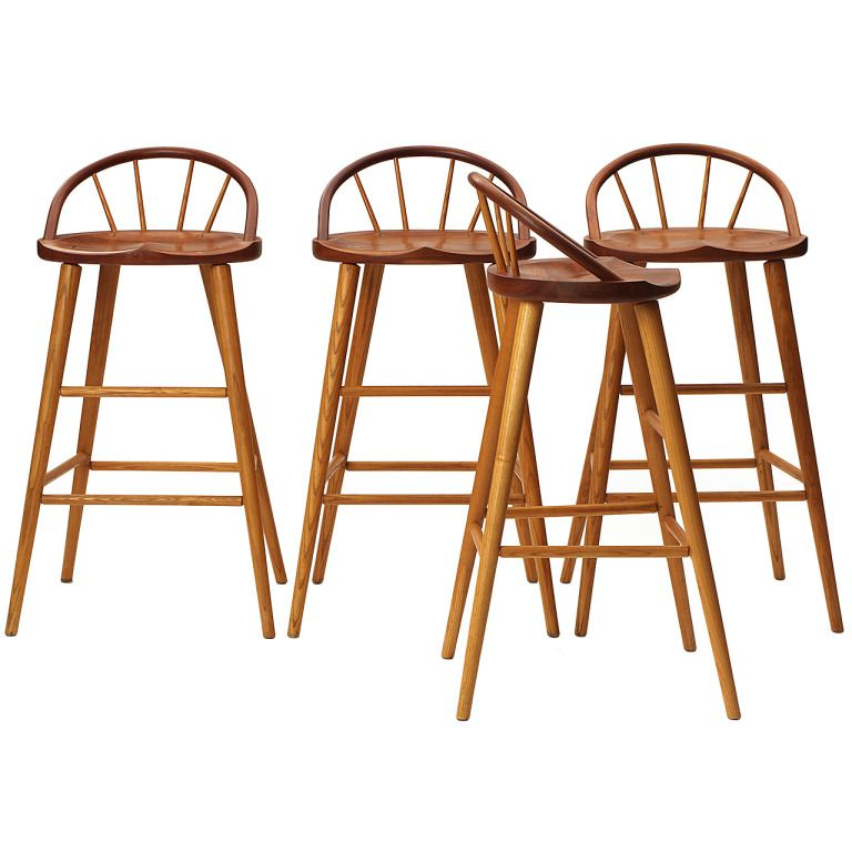 Stools By Thomas Moser 1stdibs Com Elegant Bar Stools Stool Porch Furniture