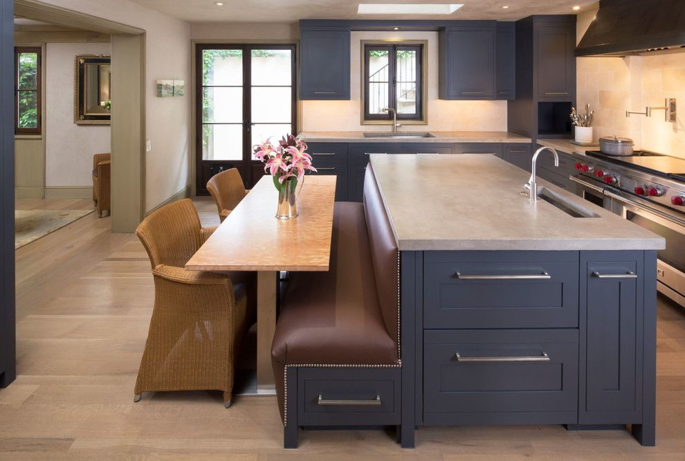 Incredible Counter Height Bench Decorating Ideas For Kitchen