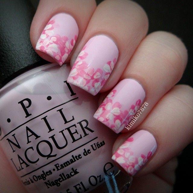 light pink Japanese Cherry Blossom | nails | Pinterest | Japanese ...