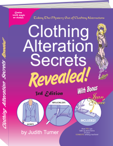 Clothing Alterations Book Altering Clothes Sewing Alterations Secrets Revealed