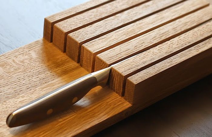 knife board 2 Elegant and Highly Functional Drawer Accessories for