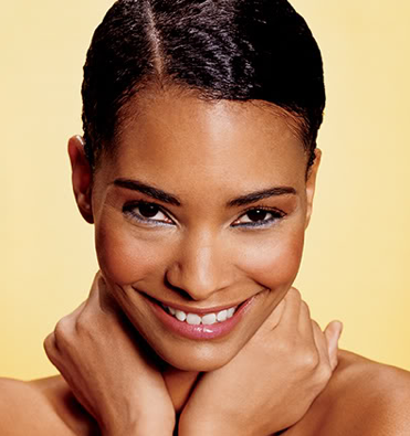 Slick Style With A Part Natural Hair Gel Short Natural Hair Styles Sleek Short Hair Natural Hair Styles