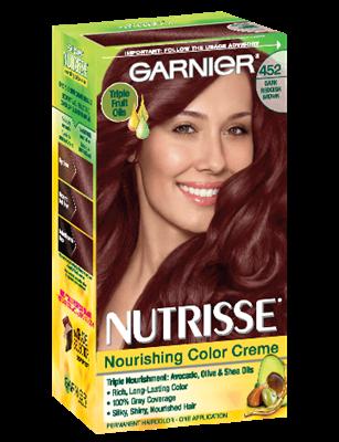 Nourishing Color Creme Dark Reddish Brown 452 Chocolate Cherry