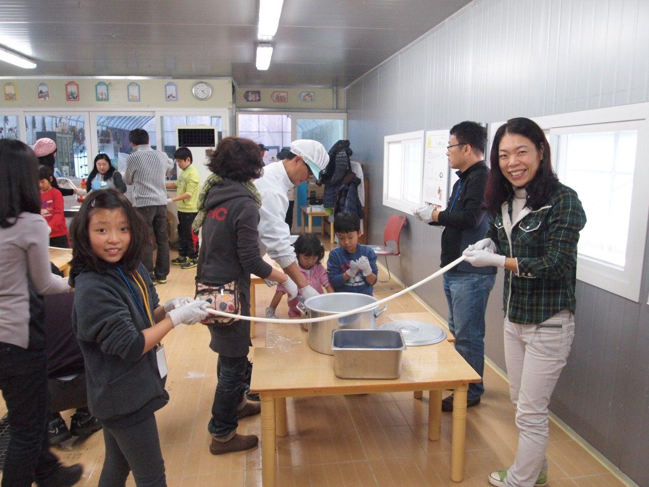 대산 농촌 문화 재단 가족사랑 목장 체험 2012/11/27