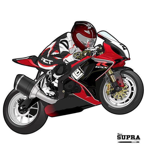 My Other Ride Is A Suzuki GSX-R 1000 Motorcycle Car Window Vinyl Decal Sticker