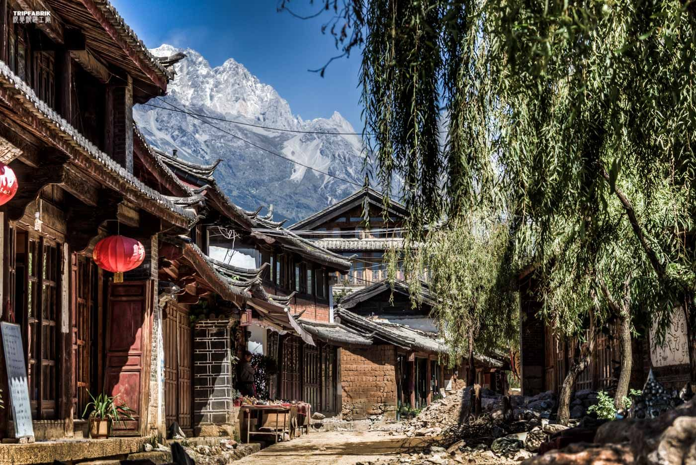 Lijiang Yunnan China | The ancient old town of Baixa, near Lijiang | China | Yunnan Province | ancient old town of Lijiang | dayan | shuhe | baixa | one of the most colorful and multifarious countries on this planet | find more photographs and films on http://tripfabrik.de  #china #asia #travel #photography #landscapes #nature #impressions #adventure #dayan #shuhe #baixa #lijiang #dali360 #ancient #oldtown #unesco #worldheritage #heritage