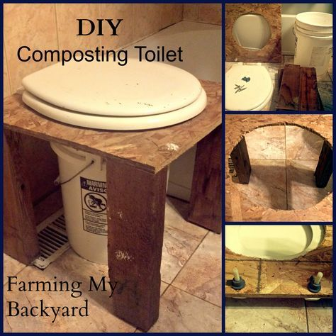 How To Make Your Own DIY Composting Toilet | Composting toilet ...