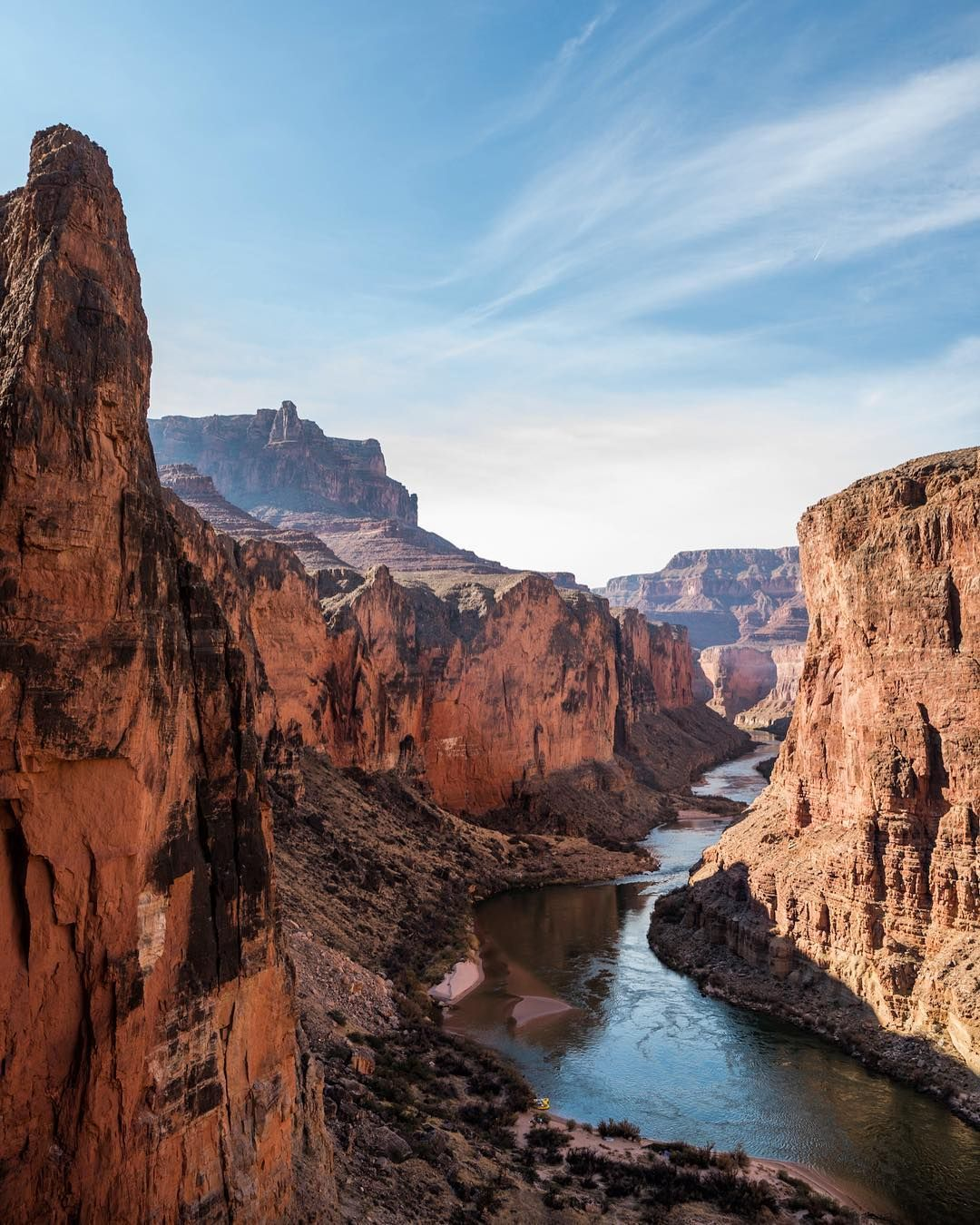 Photo By Taylorglenn A Brilliant View Down A Section Of Marble Canyon In Grand Canyon National Grand Canyon Photography Marble Canyon Trip To Grand Canyon