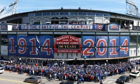 Iconic #WrigleyField turns 100 yrs old