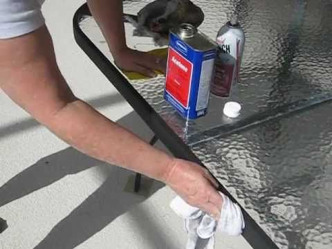 Instead Of Spray Painting Your Patio Furniture Try This Easy Fix To Make It