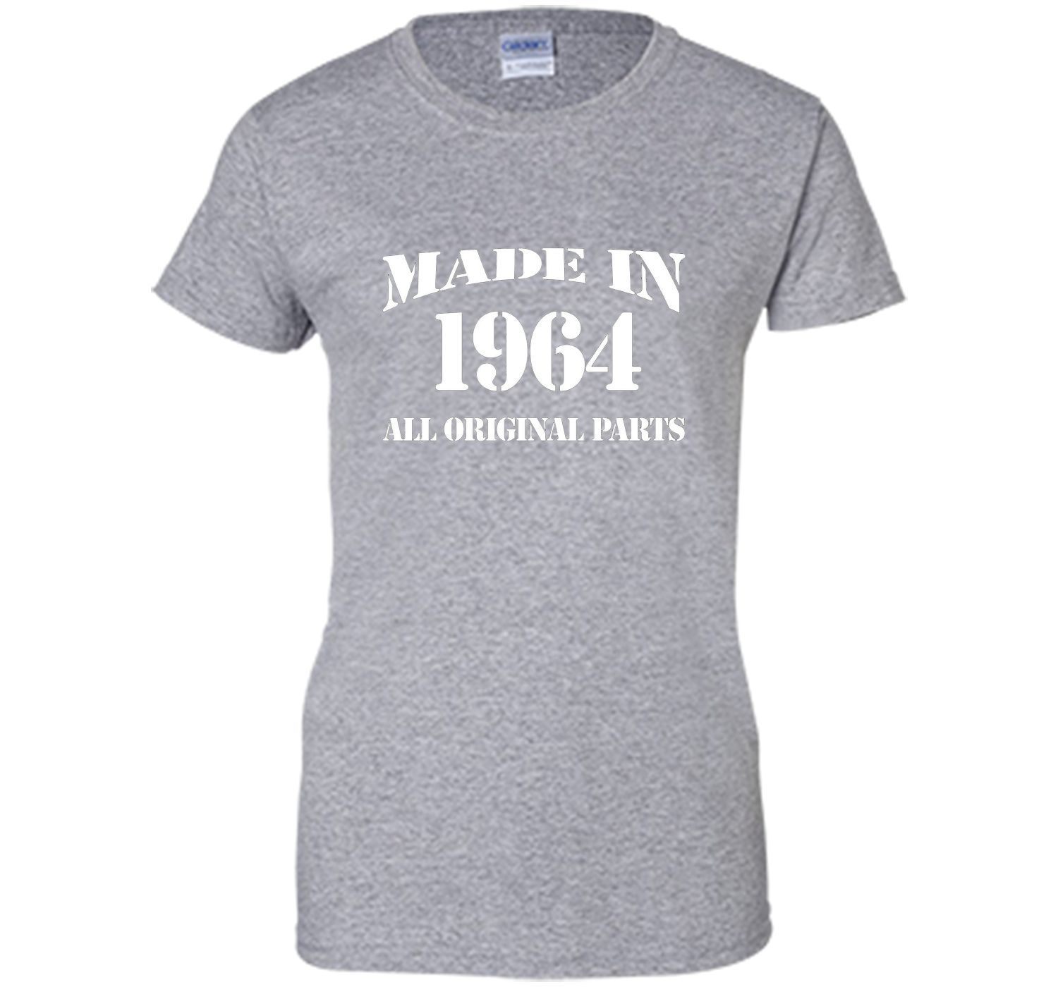 52th Birthday Gift Made In 1964 All Original Parts T-Shirt