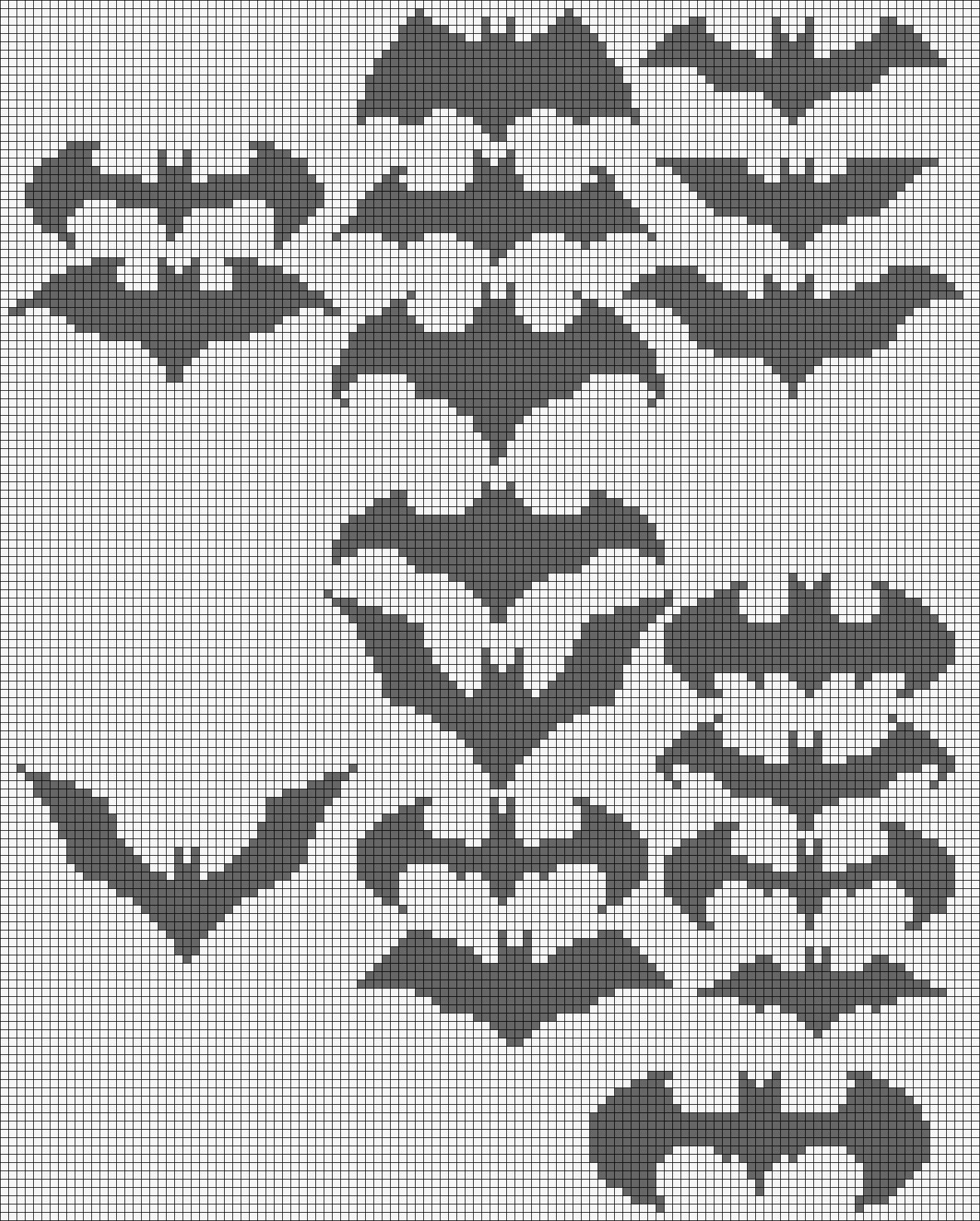 Batman Alpha Pattern #16071 Preview added by adelabats | Superheros ...