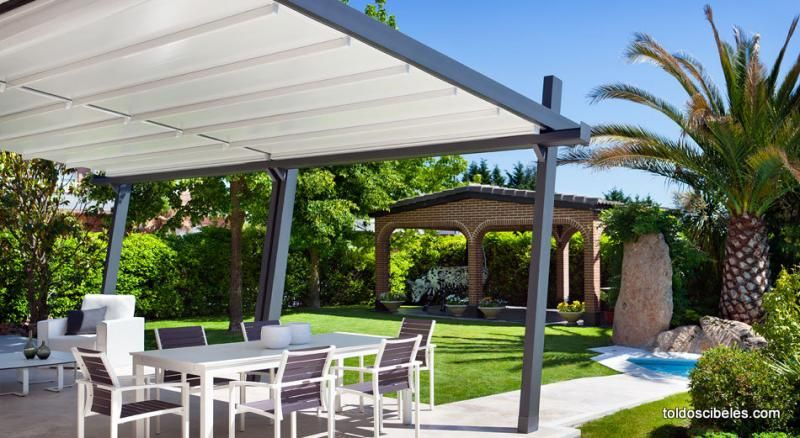 Una p rgola en terraza es ideal para ampliar tu hogar y for Pergolas metalicas para jardin